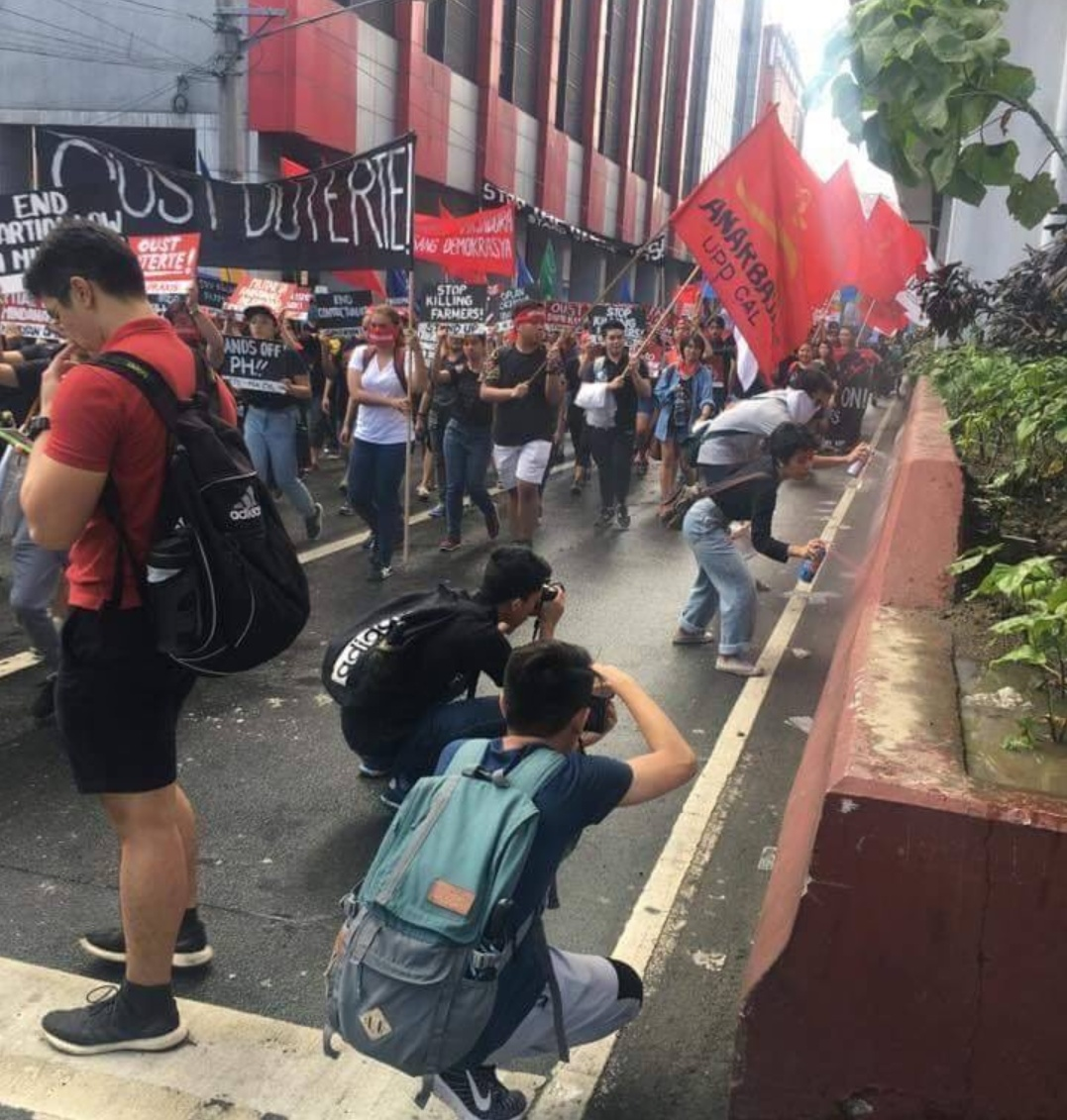 """Acts of VANDALISM left by communist militants reported following the September 21 #NeverAgain """"Grand Rally"""" in Manila"""