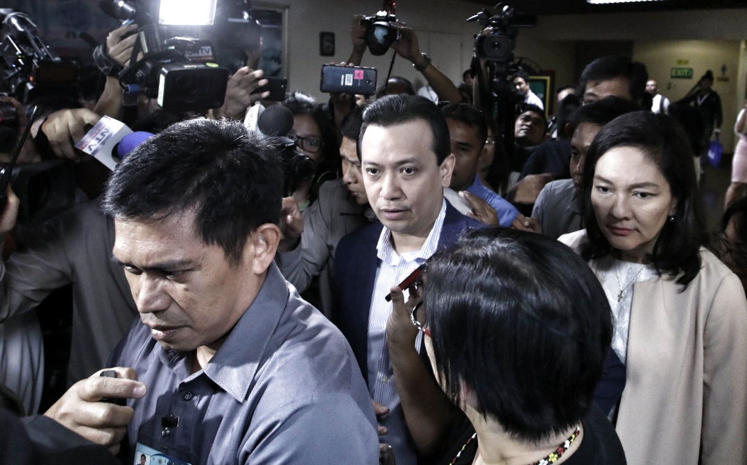 """Trillanes praise of the Supreme Court's """"independence"""" marks Yellowtard acceptance of its authority"""