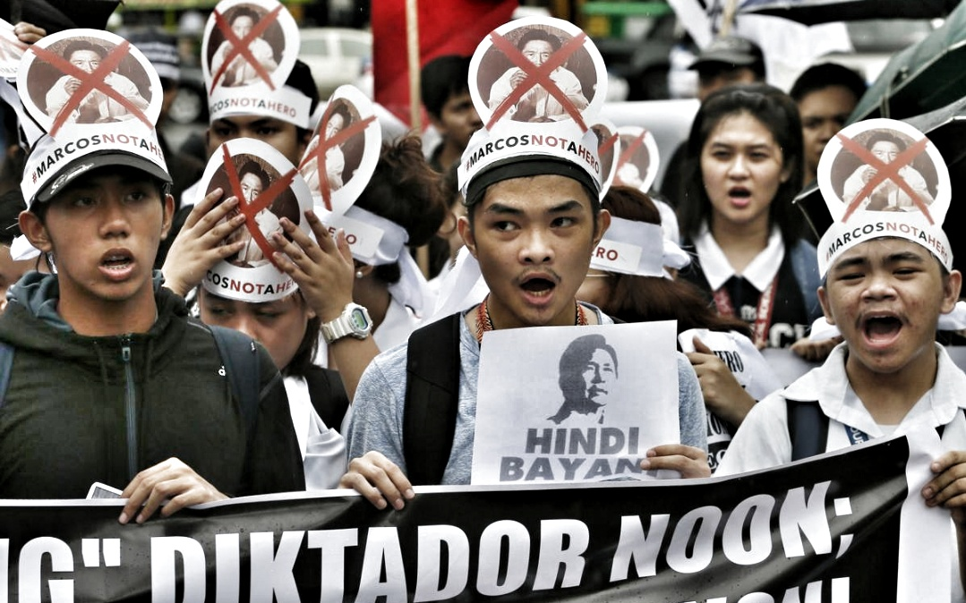 """Marcos this Marcos that. Martial Law this Martial Law that. Is that all there is to Filipino """"activism""""?"""