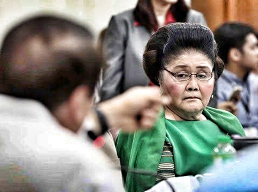 The Opposition's call for Imelda Marcos's imprisonment may not sit well with Filipinos' deep reverence for the elderly